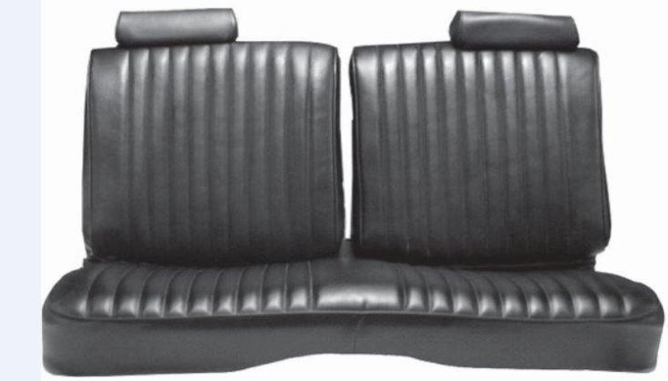 1981 Chevrolet El Camino Seat Cover Bench W O Armrest